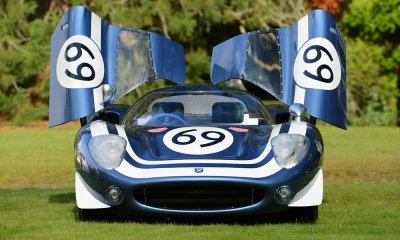 Ecurie Ecosse LM69 doors open