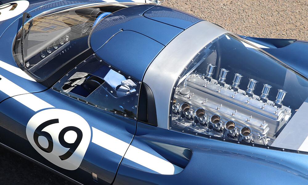 Ecurie Ecosse LM69 V12 engine detail