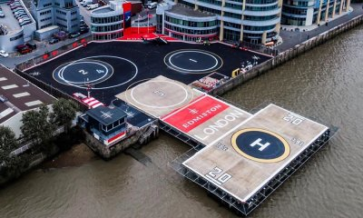 Edmiston London Heliport aerial view