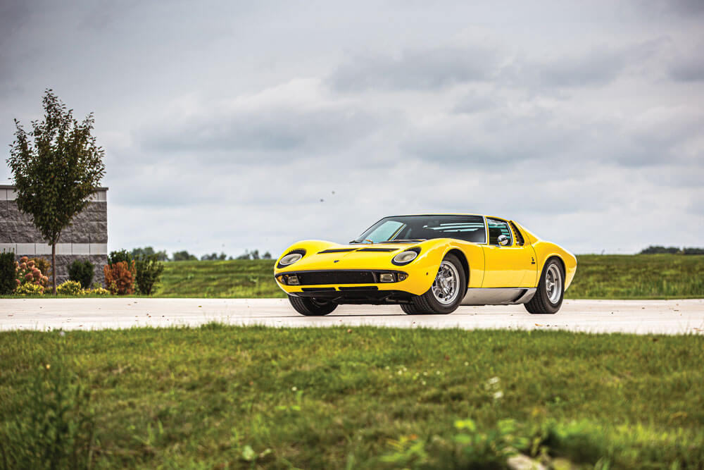 Elkhart Collection 1969 Lamborghini Miura P400 S by Bertone