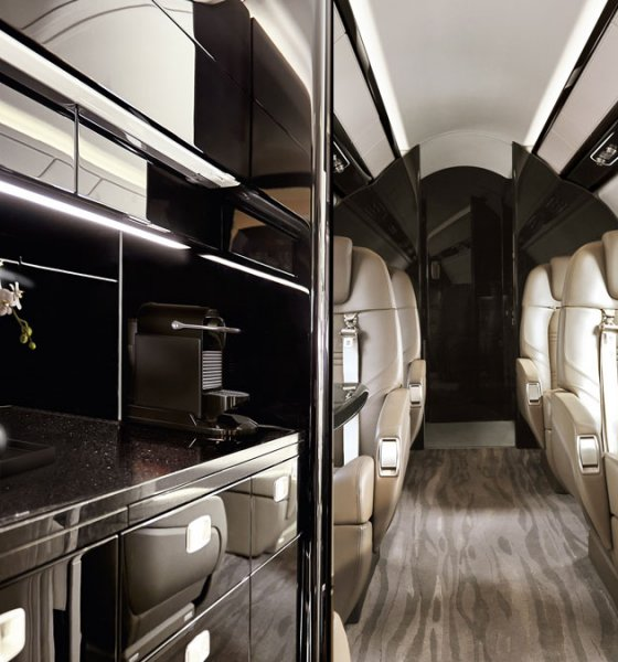 Embraer Praetor 500 interior cabin improvements