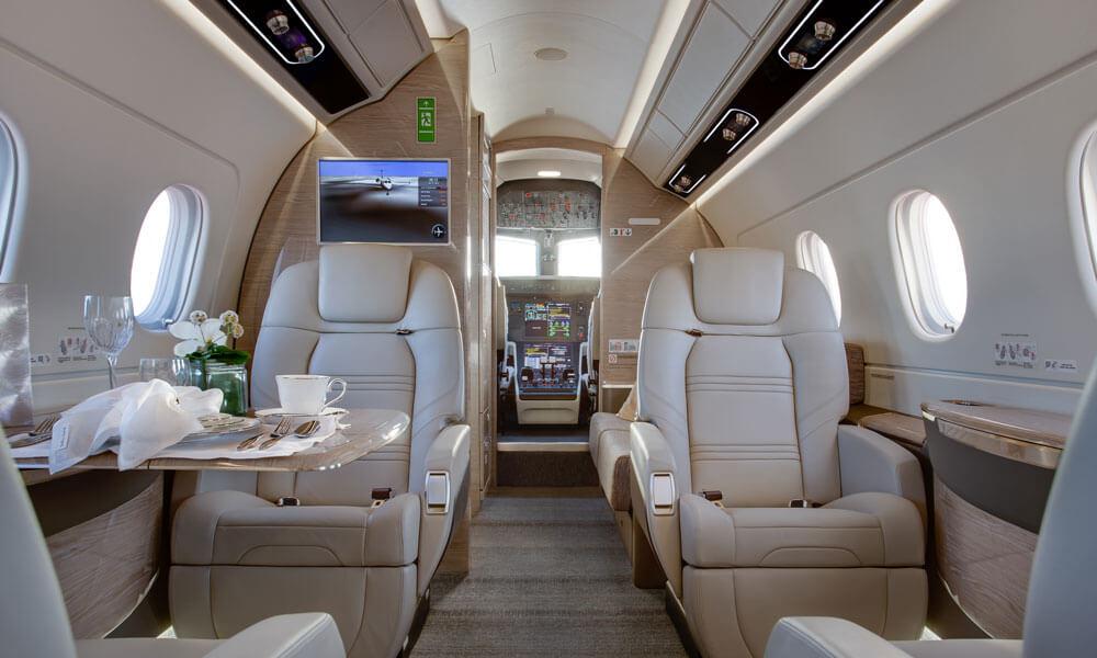 Embraer Praetor 500 interior cabin