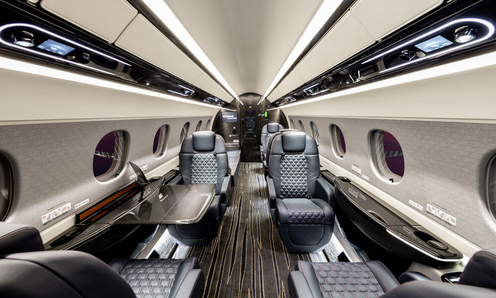 Embraer Praetor 600 interior cabin