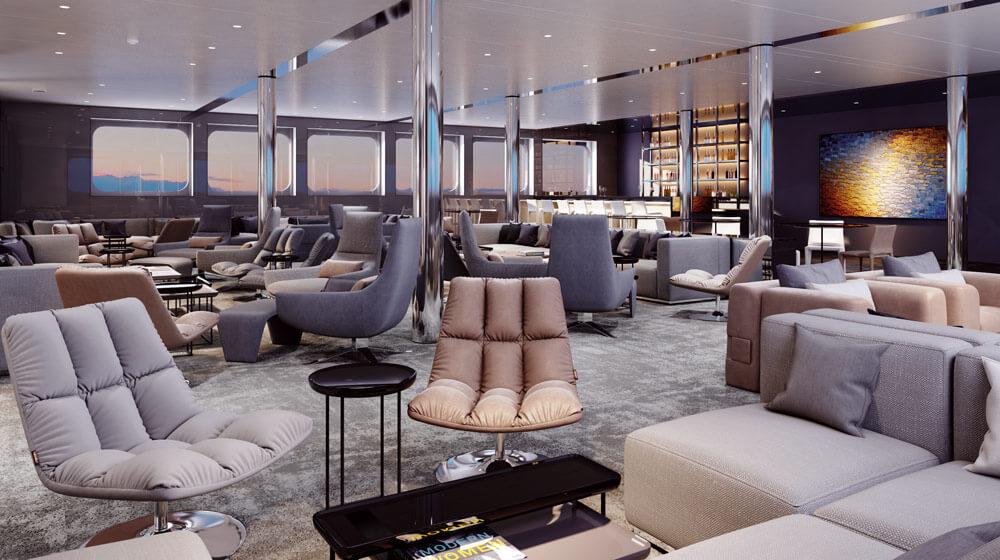 Emerald Yacht Cruises Superyacht Emerald Azzurra's Horizon Bar