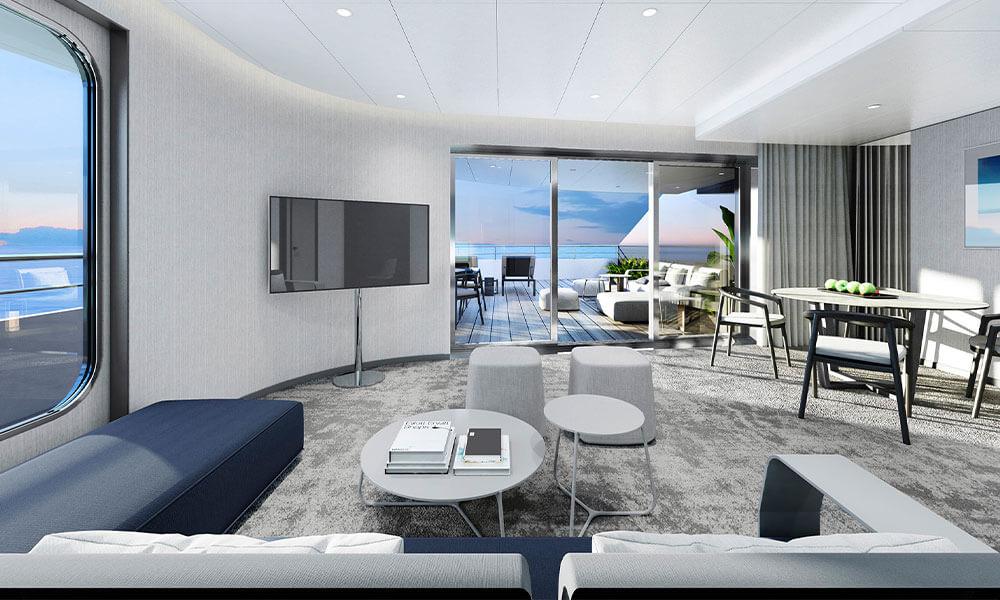 Emerald Yacht Cruises Superyacht Emerald Azzurra's Owner Suites