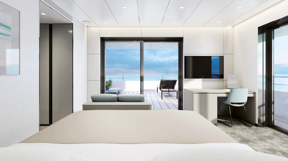 Emerald Yacht Cruises Superyacht Emerald Azzurra's Terrace Suite