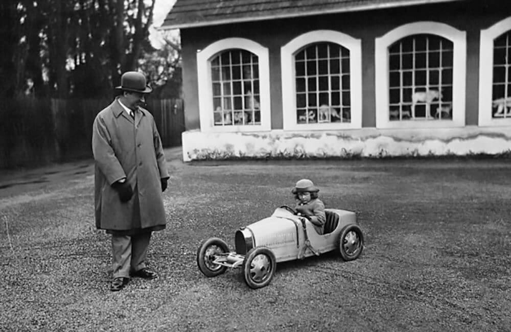 Ettore Bugatti Type 52 Baby Bugatti For Roland's Birthday