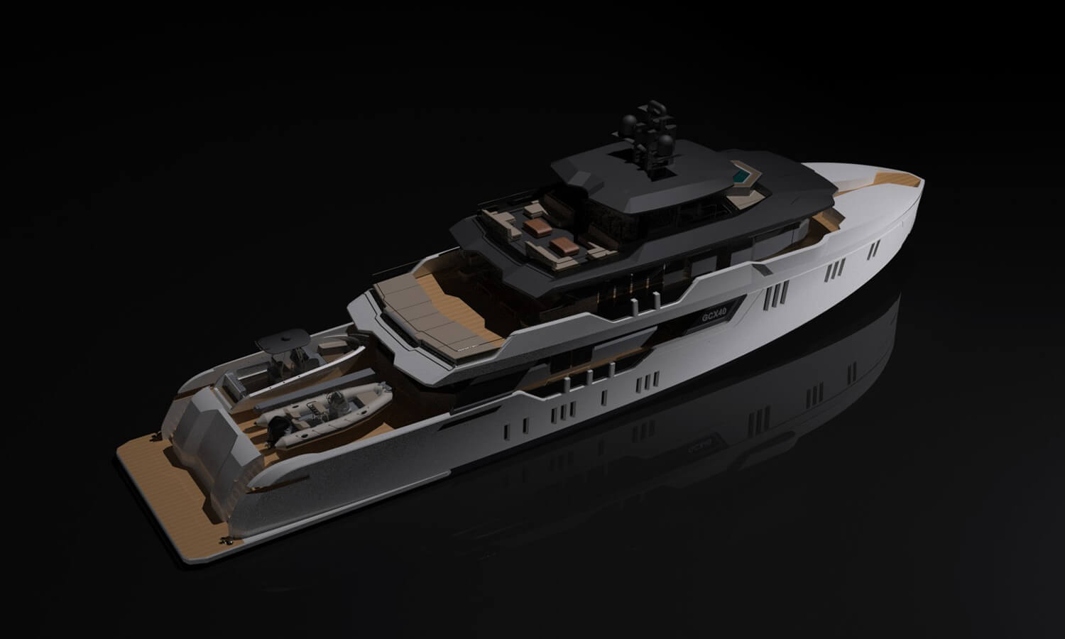 Evolution Yachts GCX40 42m Explorer Superyacht