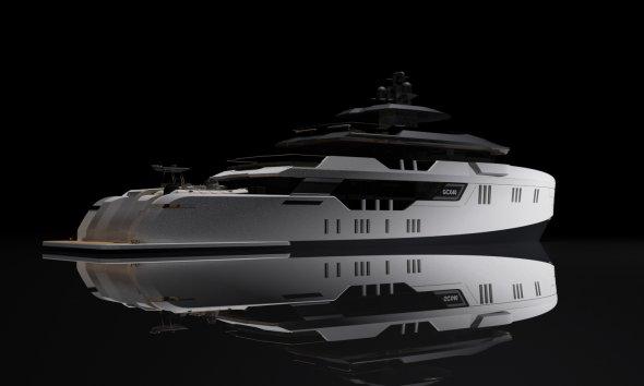 Evolution Yachts GCX40 40m Explorer Superyacht