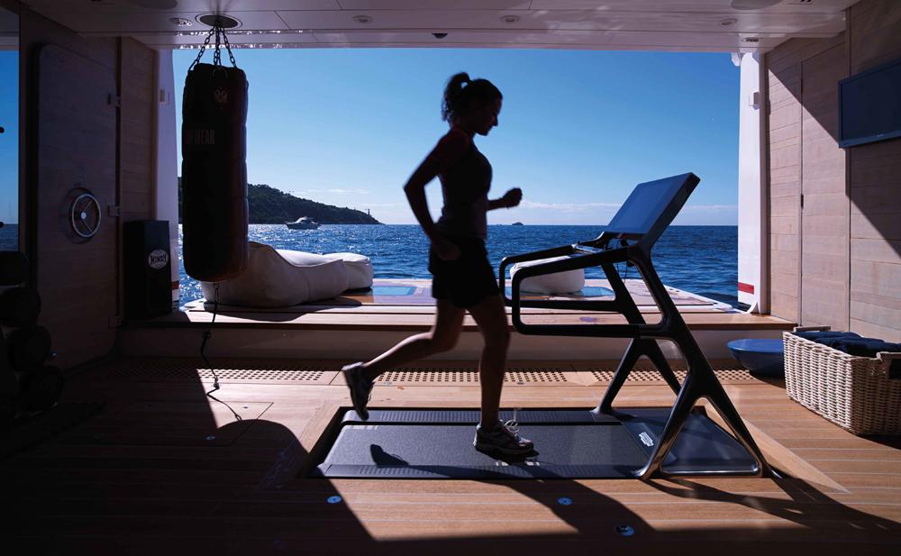 Feadship Hampshire II Wellness Gym