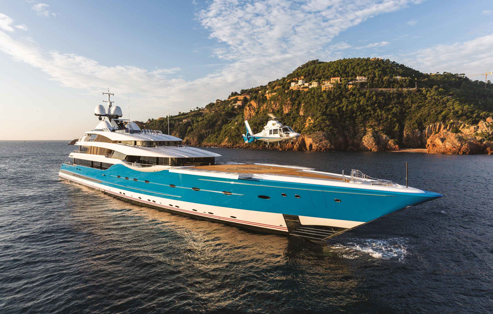Feadship Madame Gu Superyacht sold by Chris Cecil-Wright Copyright Jeff Brown