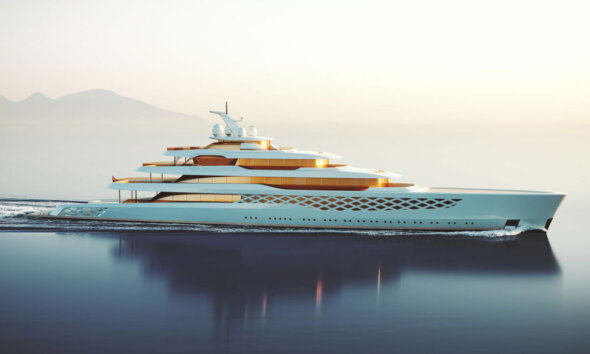 Feadship Project Freddie Gump Side View