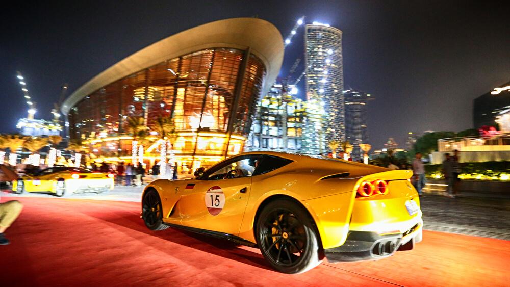 Ferrari Cavalcade 2019 UAE