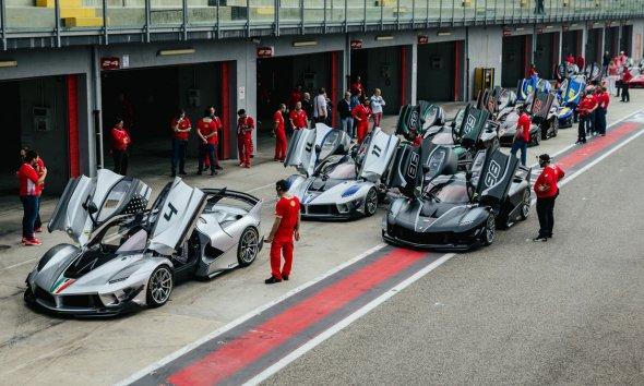 Ferrari XX Program with the Corsa Clienti Crew
