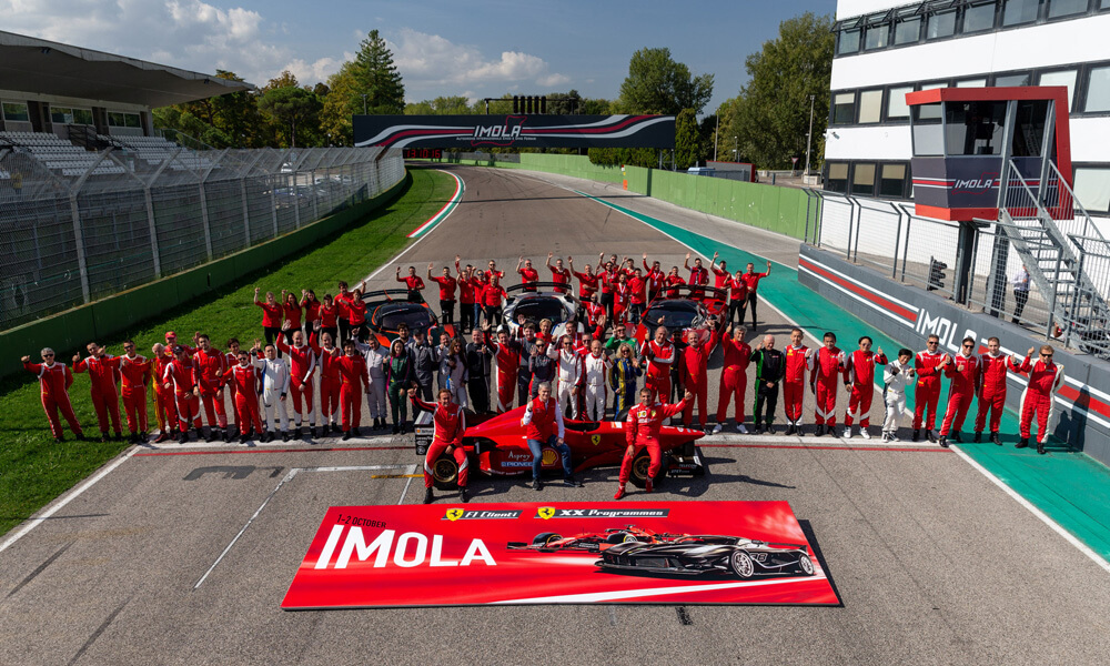 Ferrari XX Programme & F1 Programme combined at Imola Race Track.