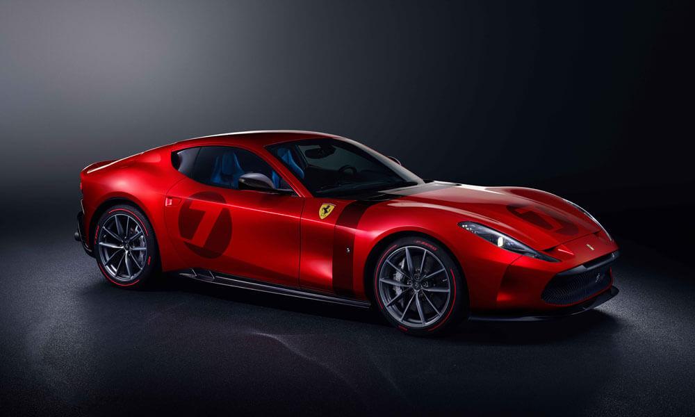 Ferrari Omologata Front Side