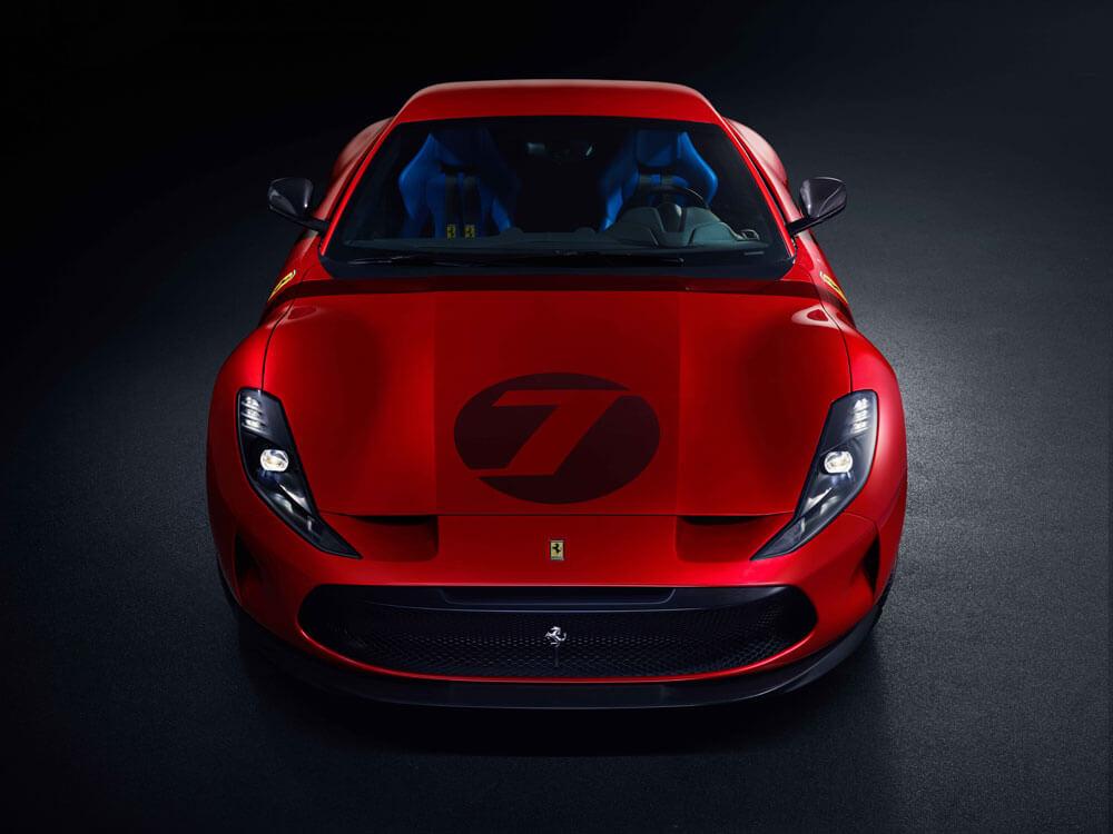 Ferrari Omologata Front View