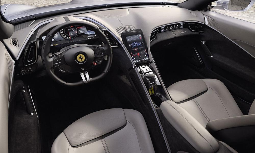 Ferrari Roma Dual Cockpit Interior