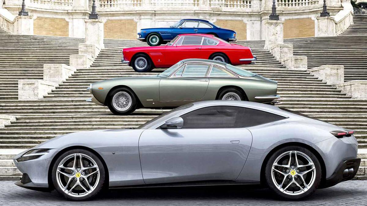 Ferrari Roma - la Nuova Dolce Vita heritage