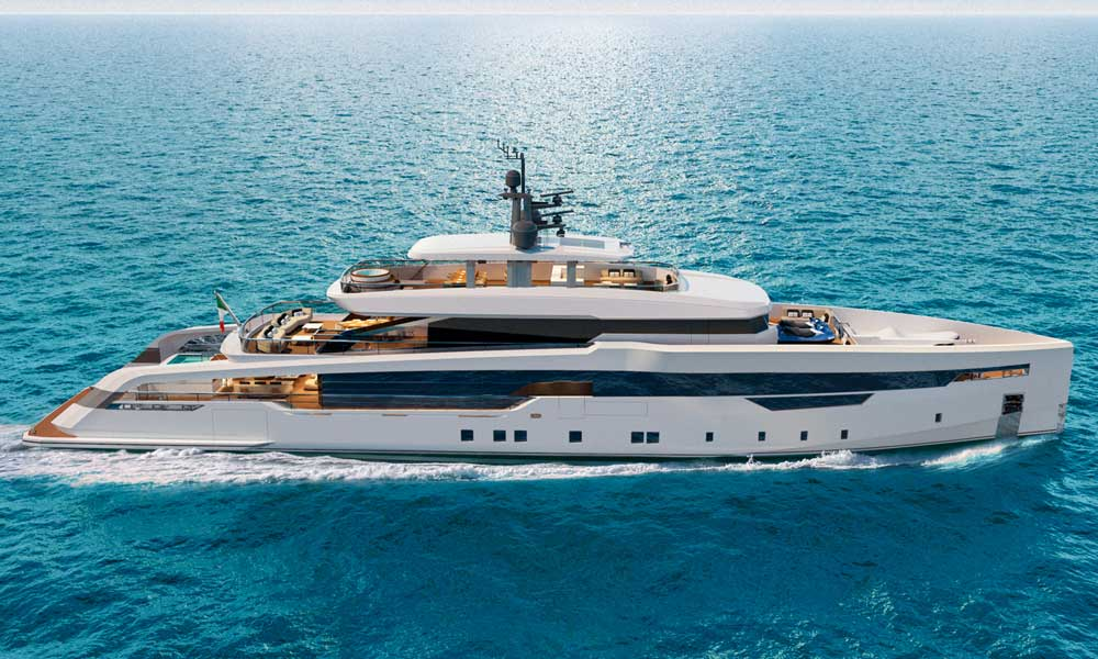 Ferretti group's CRN has sold a 52m megayacht CRN 142