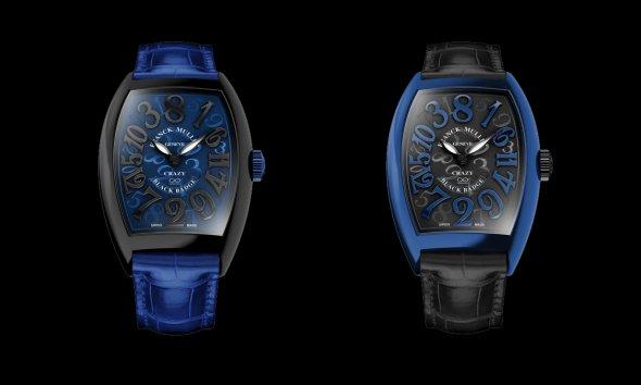 Franck Muller Rolls Royce Crazy Numbers Wraith Black Badge Cobalto Blue