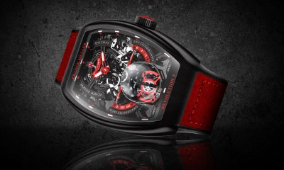 Frank Muller Vanguard Revolution 3 Skeleton Watch