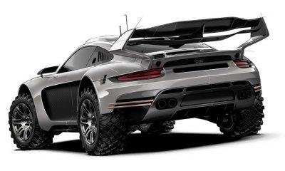 Gemballa Avalanche 4x4 Porsche Inspired 911 (991 & 992)