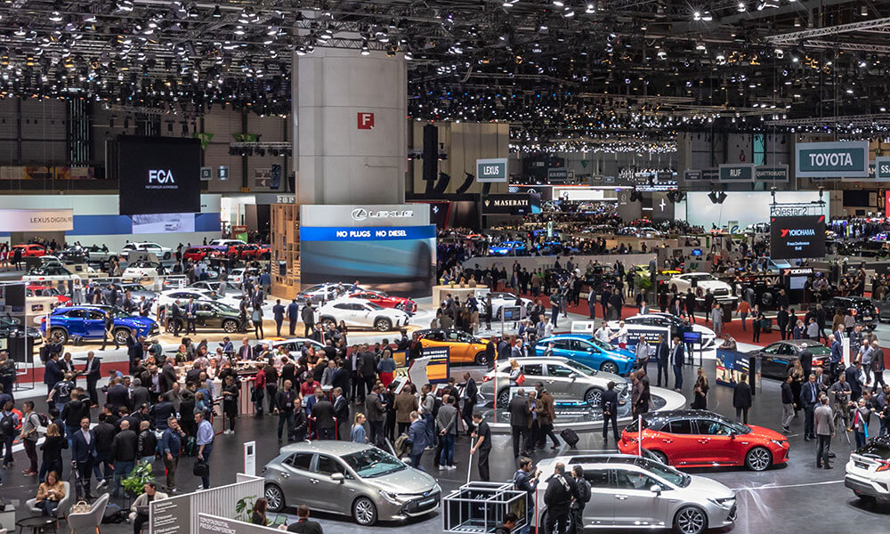 2021 Geneva International Motor Show Canceled. Credit: GIMS