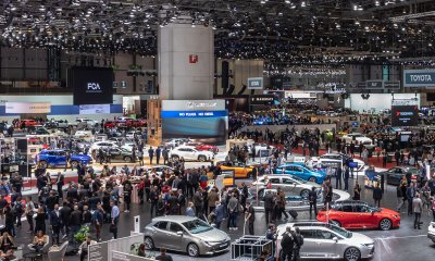 Geneva International Motor Show atmosphere