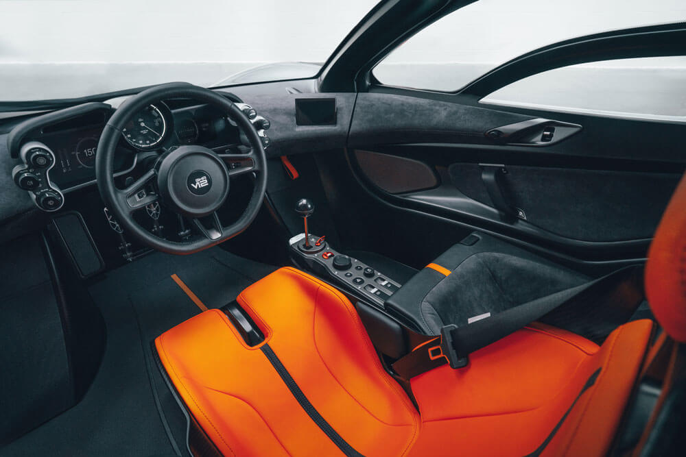 Gordon Murray T50 Supercar Interior