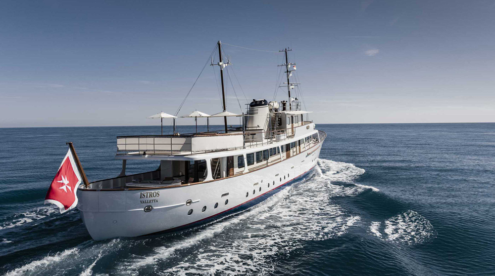Guillaume Plisson Feadship Heritage ISTROS