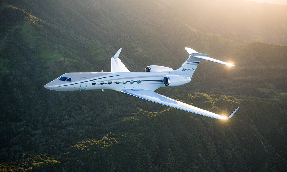 End of an era as the last Gulfstream G550 is sold. Credit: Gulfstream