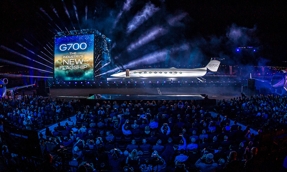 Gulfstream G700 Launch Event October 21 2019