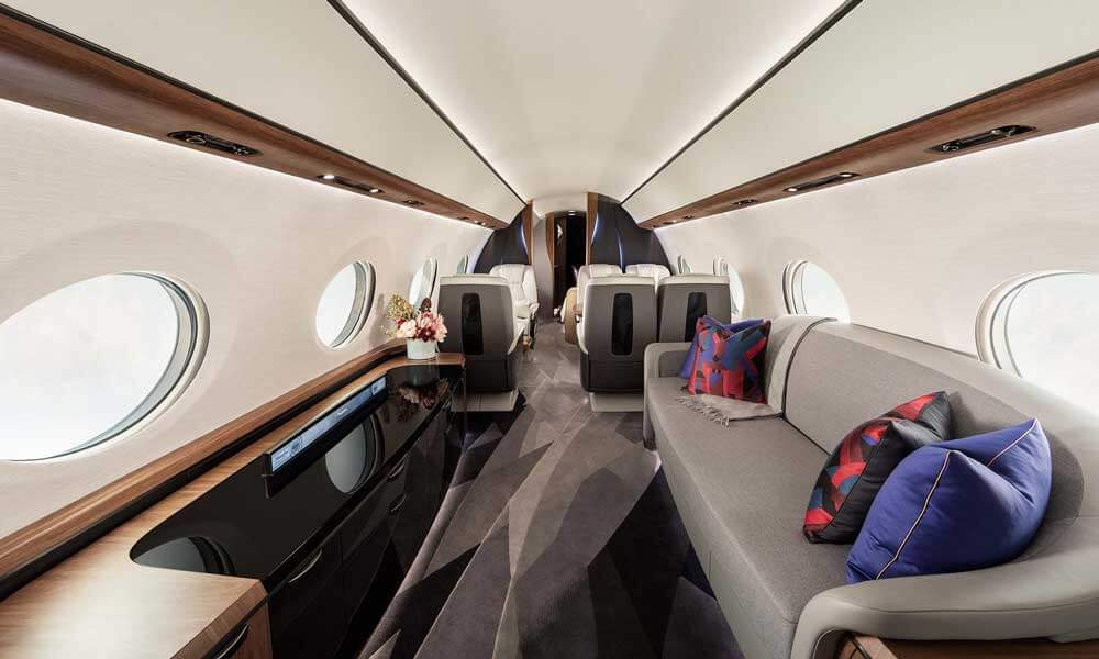 Gulfstream G700 media zone