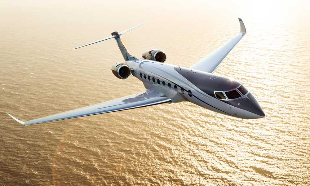 Gulfstream G700 business jet