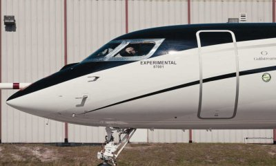Gulfstream G700 experimental test aircraft