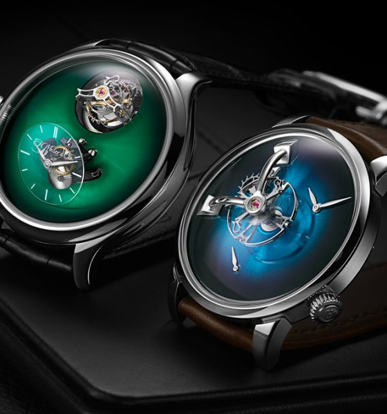 H.Moser Cie and MB&F Collaboration Watches