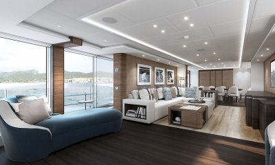 Heesen Altea YN19550 Superyacht Saloon by Christiano Gatto