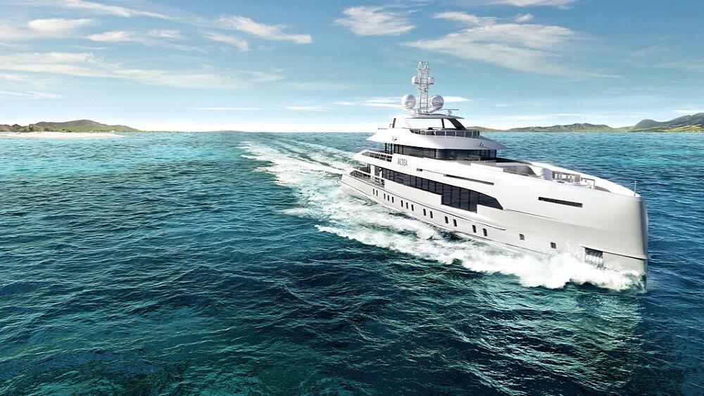 Heesen Project Altea YN19550 Superyacht Design