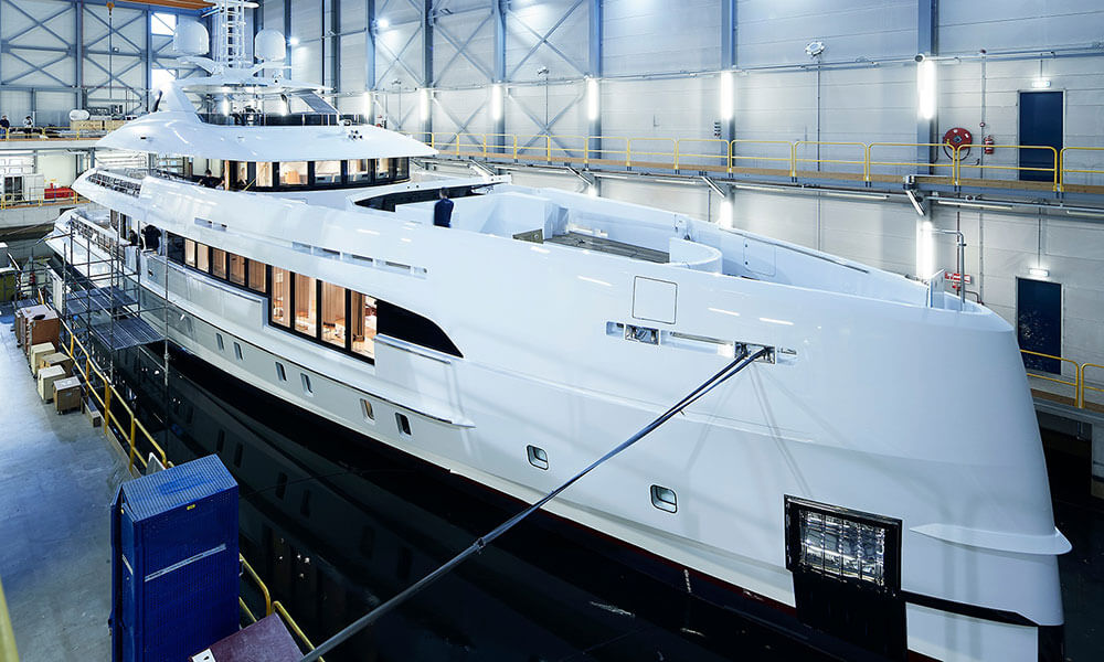 Heesen Yachts Hybrid Electra completed and ready for sea trials