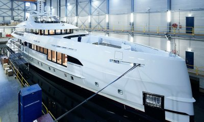 Heesen Yachts Hybrid Superyacht Electra sits completed
