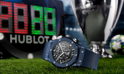 Hublot Classic Fusion AeroFusion Chronograph UEFA Champions League limited edition watch