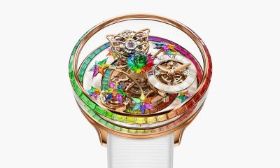 Jacob & Co Rainbow Fleurs de Jardin Tourbillon Watch Revealed