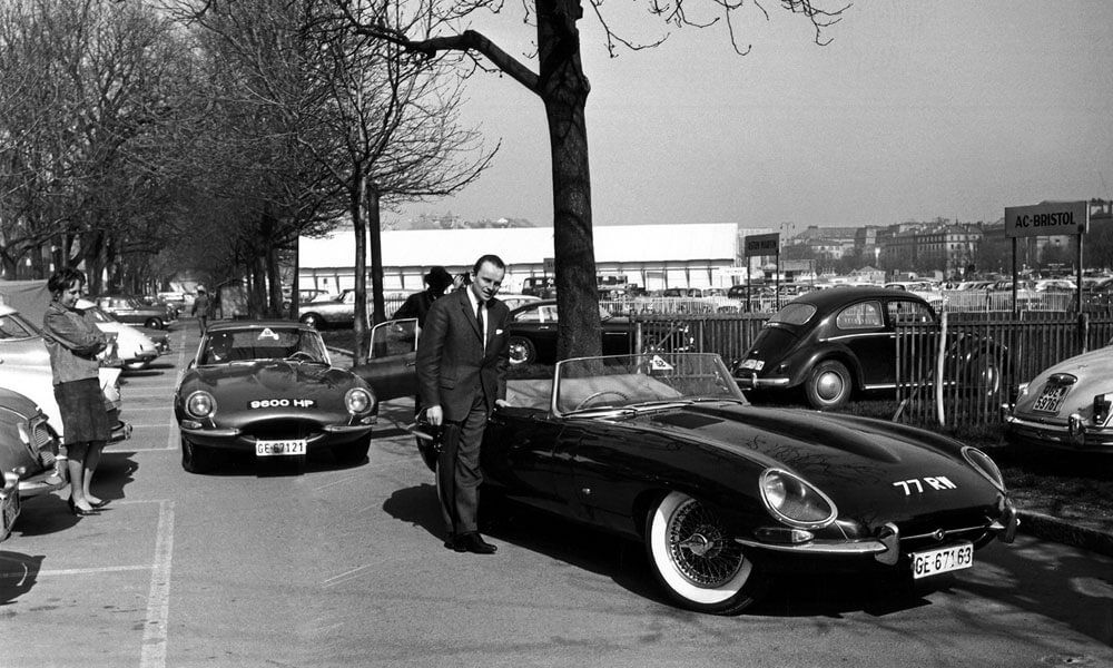 Jaguar Classic E-Type 60 Collection 1961 Geneva Jacques DeClippel