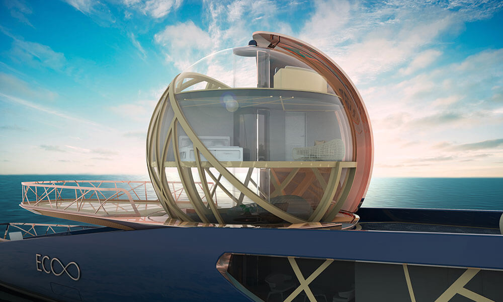 Julien Cadro's Ecoo superyacht design