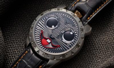 Konstantin Chaykin Mouse King Watch Face Detail Dark