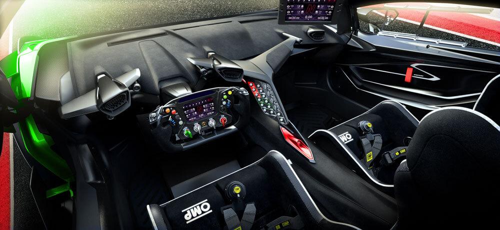 Lamborghini Essenza SCV12 Y Interior Console