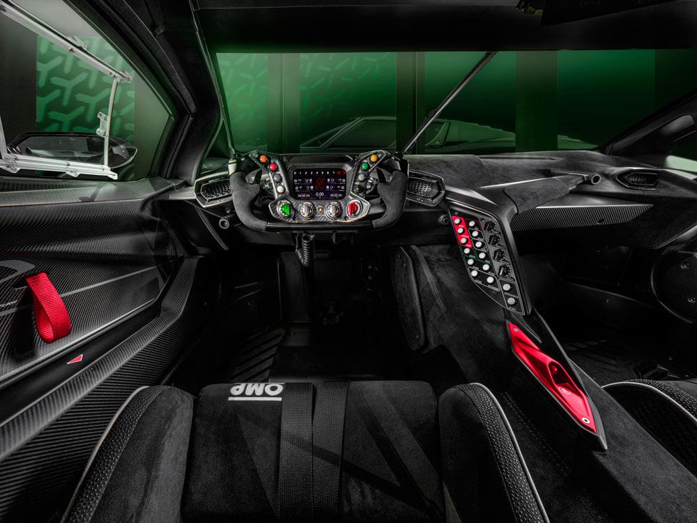 Lamborghini Essenza SCV12 Y Interior Cockpit