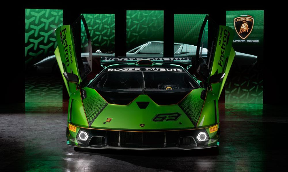 Lamborghini Essenza SCV12 Front View