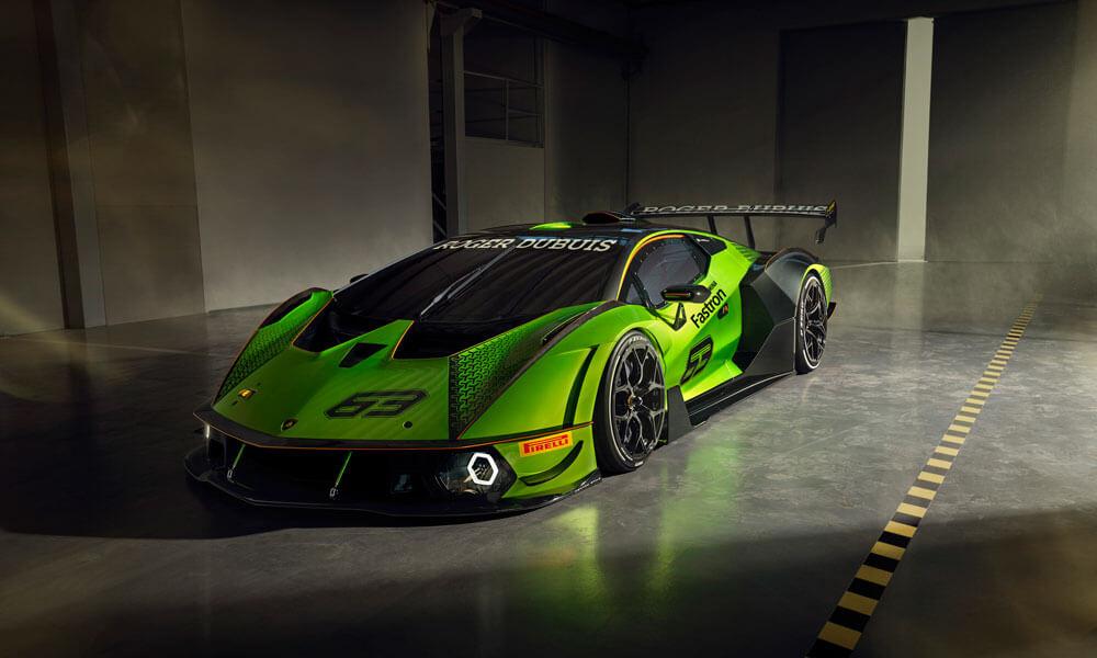 Lamborghini Essenza SCV12 Side Front View